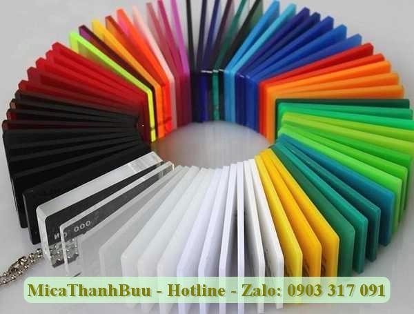 Mica ChoChen đa dạng về màu sắc